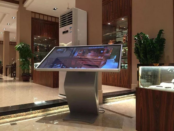 What is the future of the touch screen kiosk?