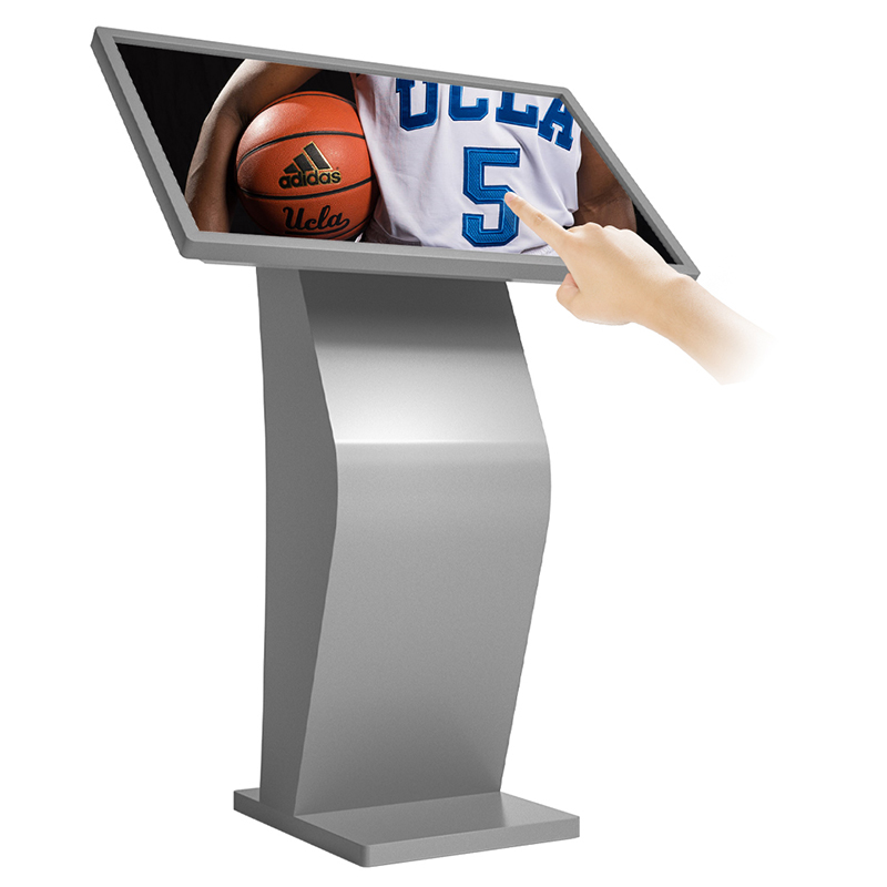Indoor LCD capacitive touch screen kiosk