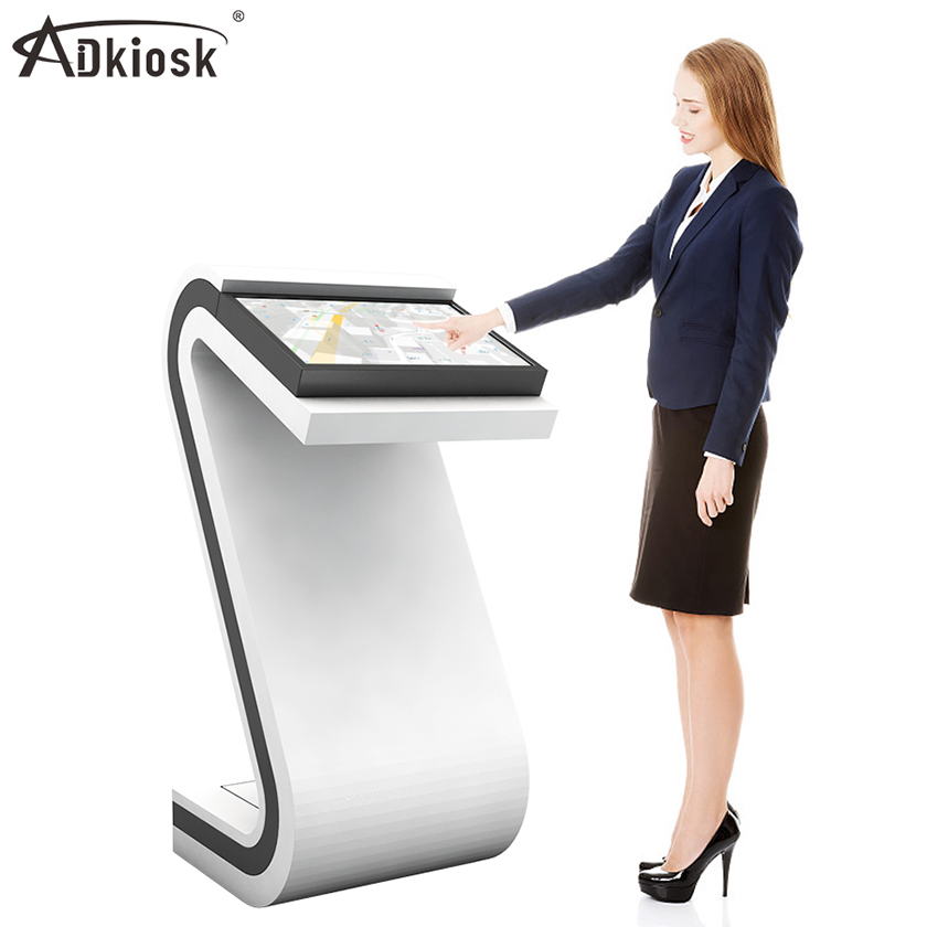 Indoor Horizontal LCD capacitive touch kiosk