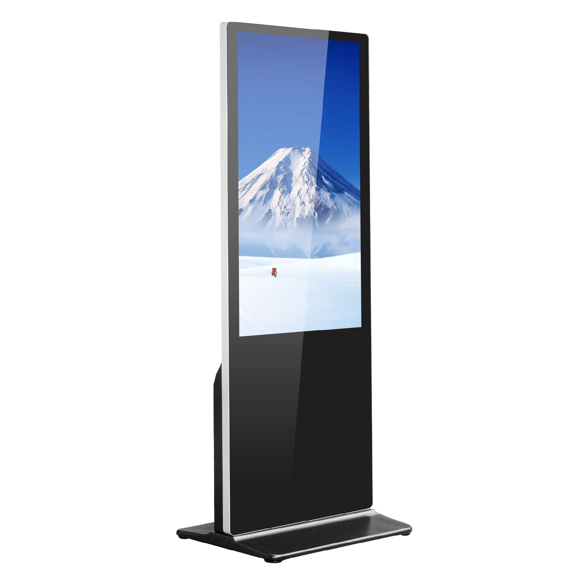 touch screen LCD floor standing advertising player