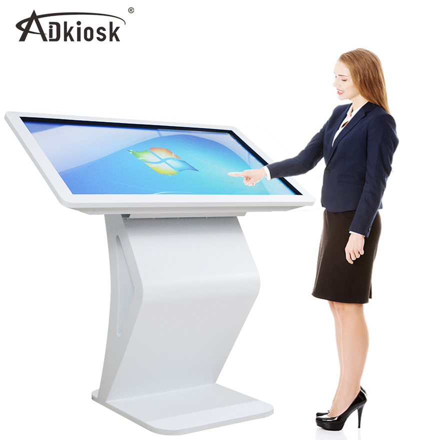 floor standing touch screen with 1080p Display