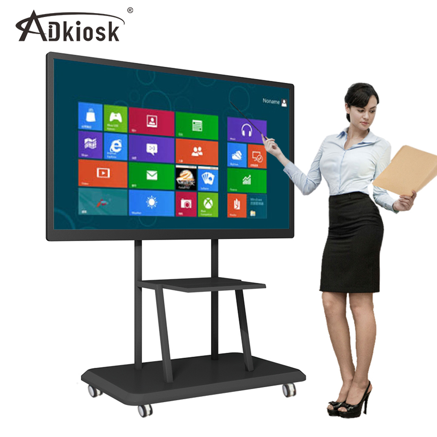 LCD digital interactive whiteboard for meeting and teaching