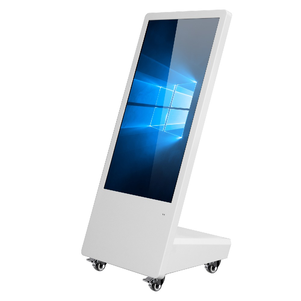 LCD movable digital advertising player