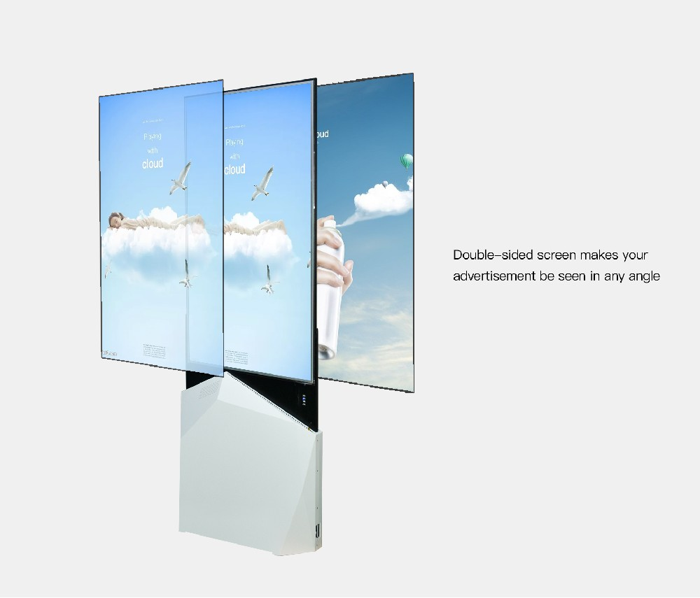 55inch double side OLED slim digital signage